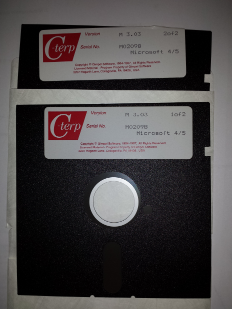 C-terp release floppy discs